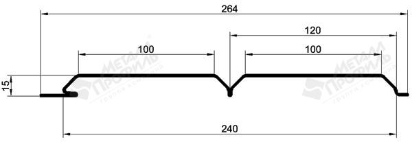 Параметры и размеры сайдинга под брус металлпрофиль
